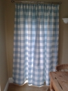 Long Whitby Check Curtains