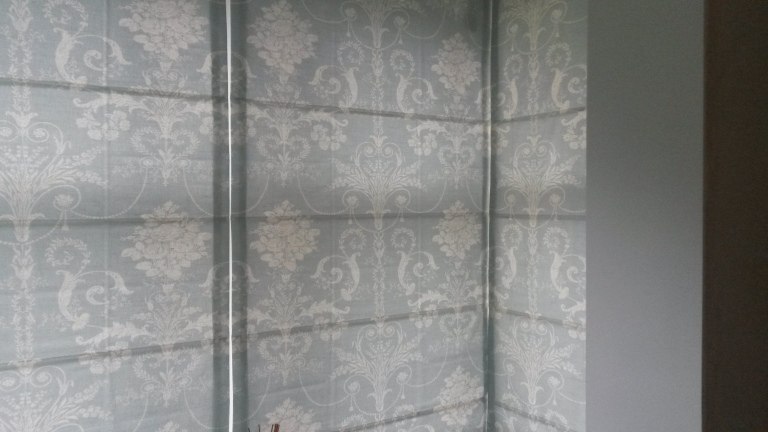 Finished Roman Blinds