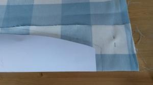 Cutting Curtain Tieback 2