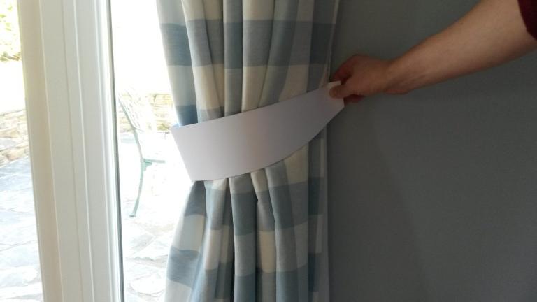 Curtain Tieback template