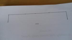 Drawing curtain tieback template 2