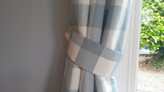 Laura Ashley Whitby Check Curtain Tieback