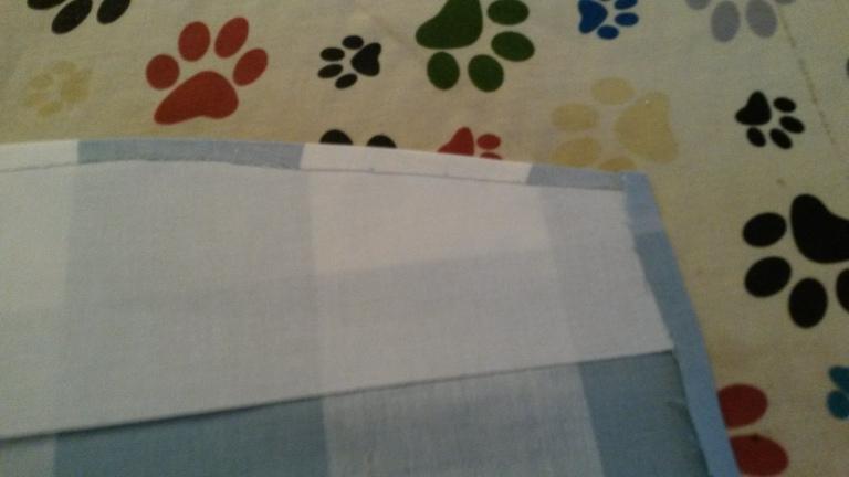 Pressing Curtain tieback 2