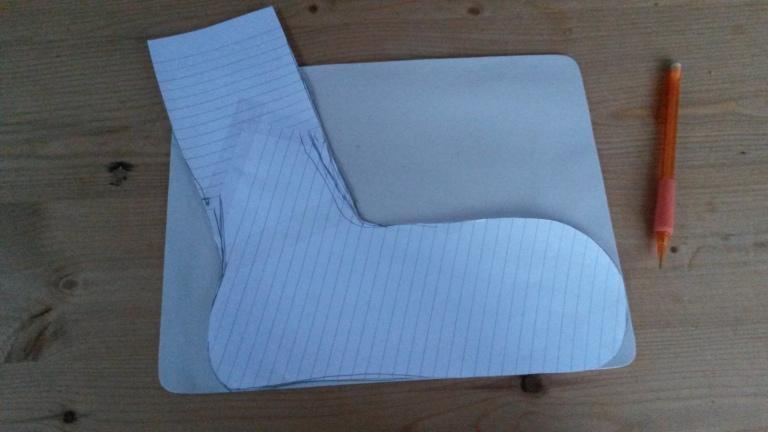 Making DIY Sock Blocker