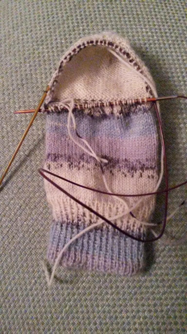Stitches picked up for Balbriggan Heel