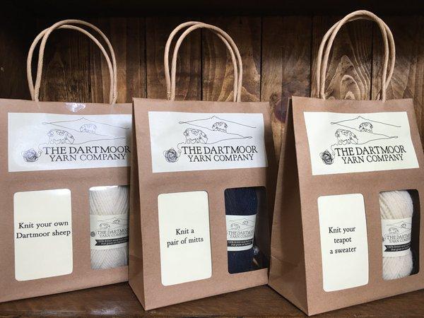Knitting kits - The Dartmoor Yarn Company