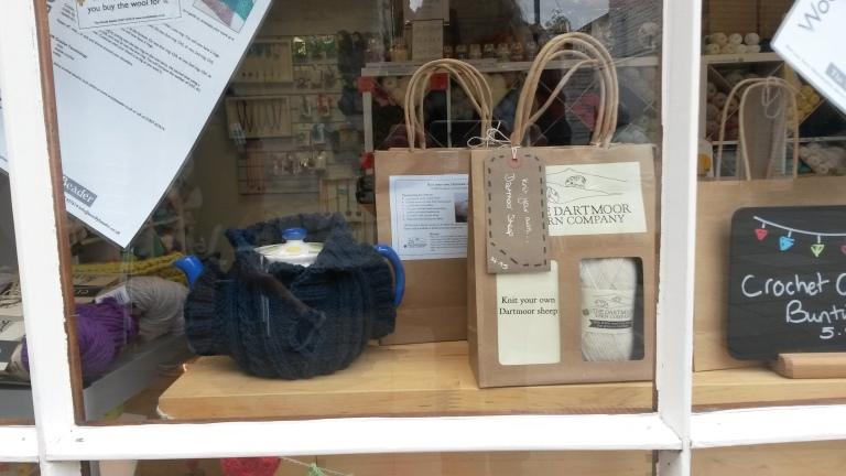 Dartmoor Wool in Window Woolly Beader Okehampton