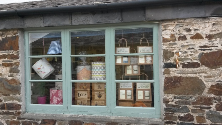 Dartmoor Wool - Window of kooky Nook Okehampton