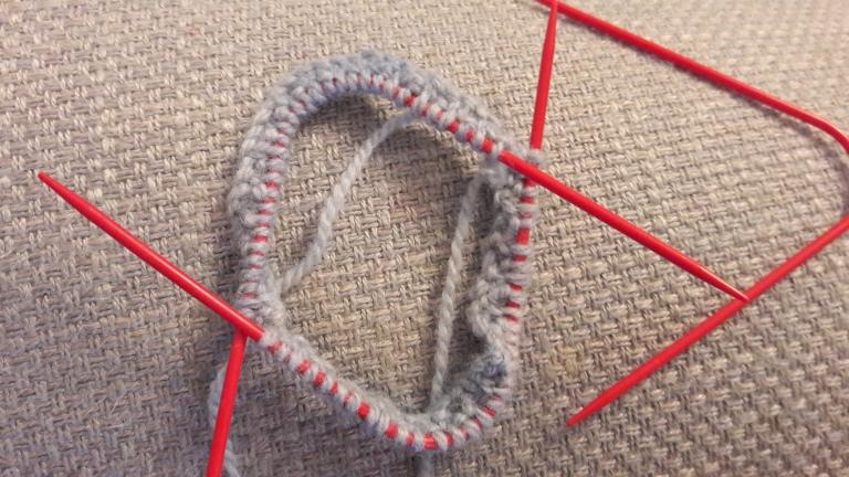 Neko sock knitting needles