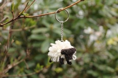 Sheep keyring kit