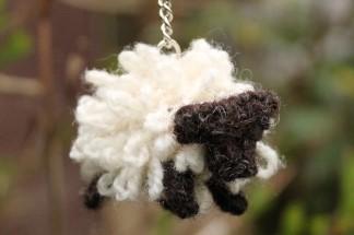 Sheep keyring large