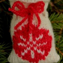Christmas bauble Santa Sack - Copy
