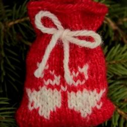 Christmas bells santa Sack - Copy