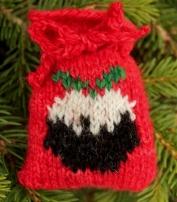 Christmas Pudding Santa Sack - Copy