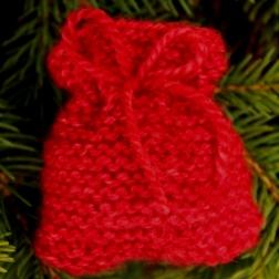 Garter stitch Santa sack - Copy