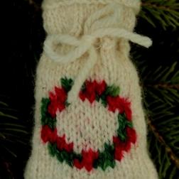 Holly Wreath Santa sack - Copy