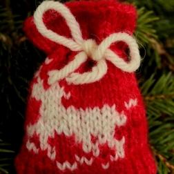 Running Reindeer Santa sack - Copy