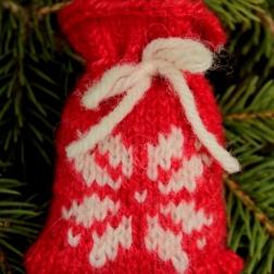 Snowflake santa sack