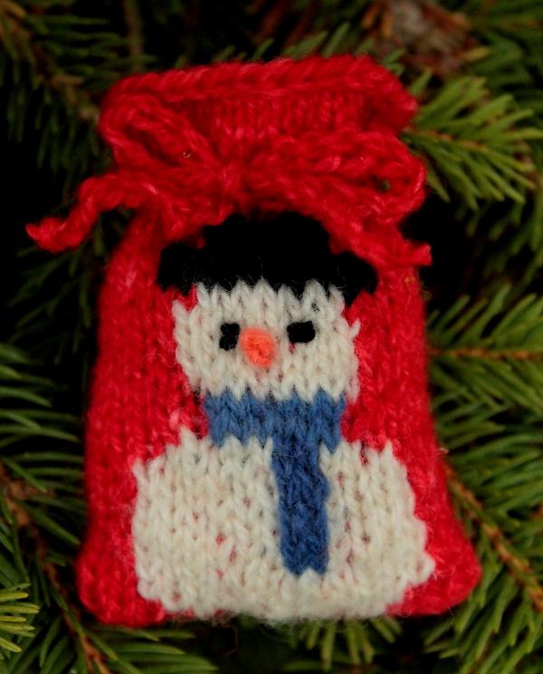 Snowman Santa Sack
