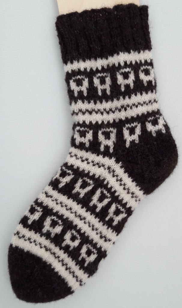 Sheep Socks Knitting Pattern