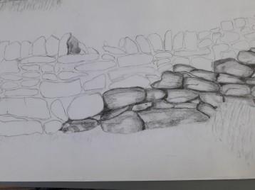 dartmoor wall